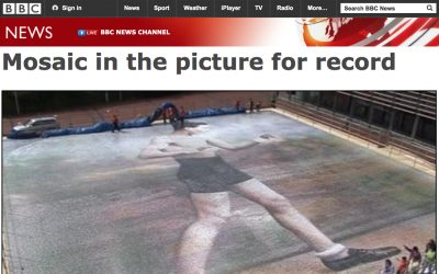 Mosaic in the Picture for Record | BBC News | 2008