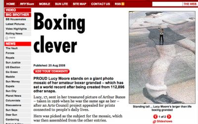 Boxing Clever | The Sun | 2008