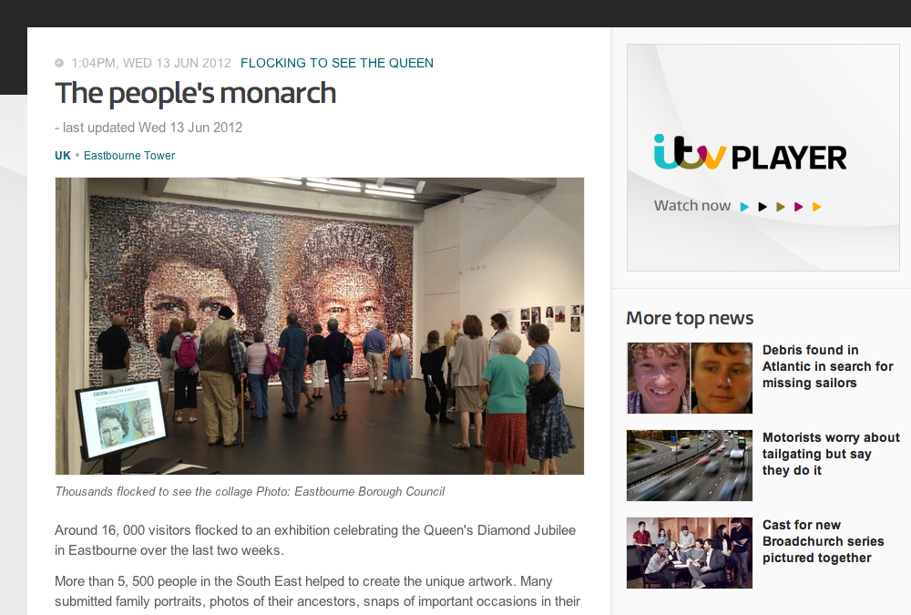 The People's Monarch | ITV News | 2013