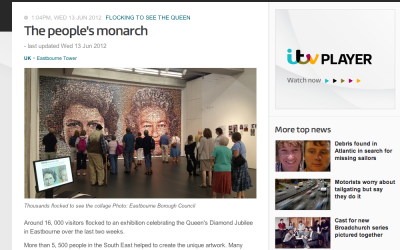 The People's Monarch   ITV News   2013