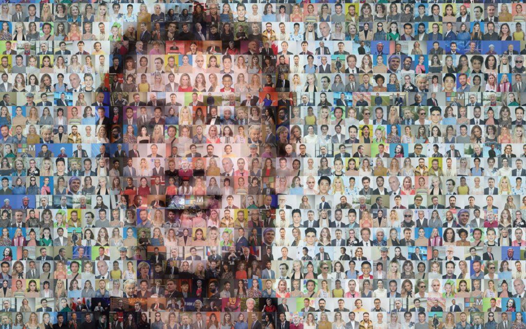 Mark Zuckerberg Mosaic at FT