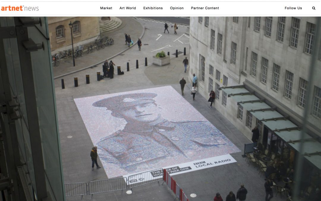 Artist Uses 30,000 Images To Create Historical Digital Mosaic | artnet | 2014