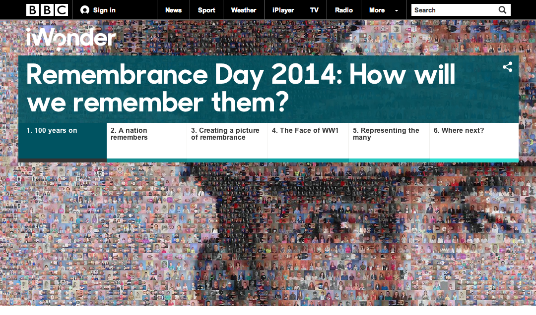 Remembrance Day 2014: How will we remember them? | BBC iWonder | 2014