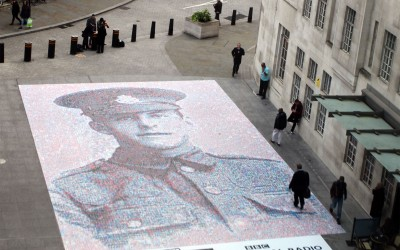 The Face of World War One unveils at the BBC