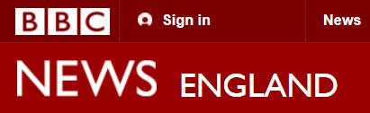BBC news England