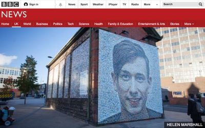 Portrait Unveiled as the Face of Stoke On Trent | BBC | 2017