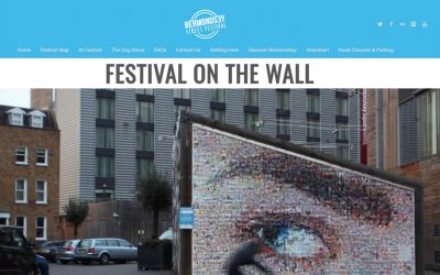 Festival on the Wall | Bermondsey Street Festival | 2016
