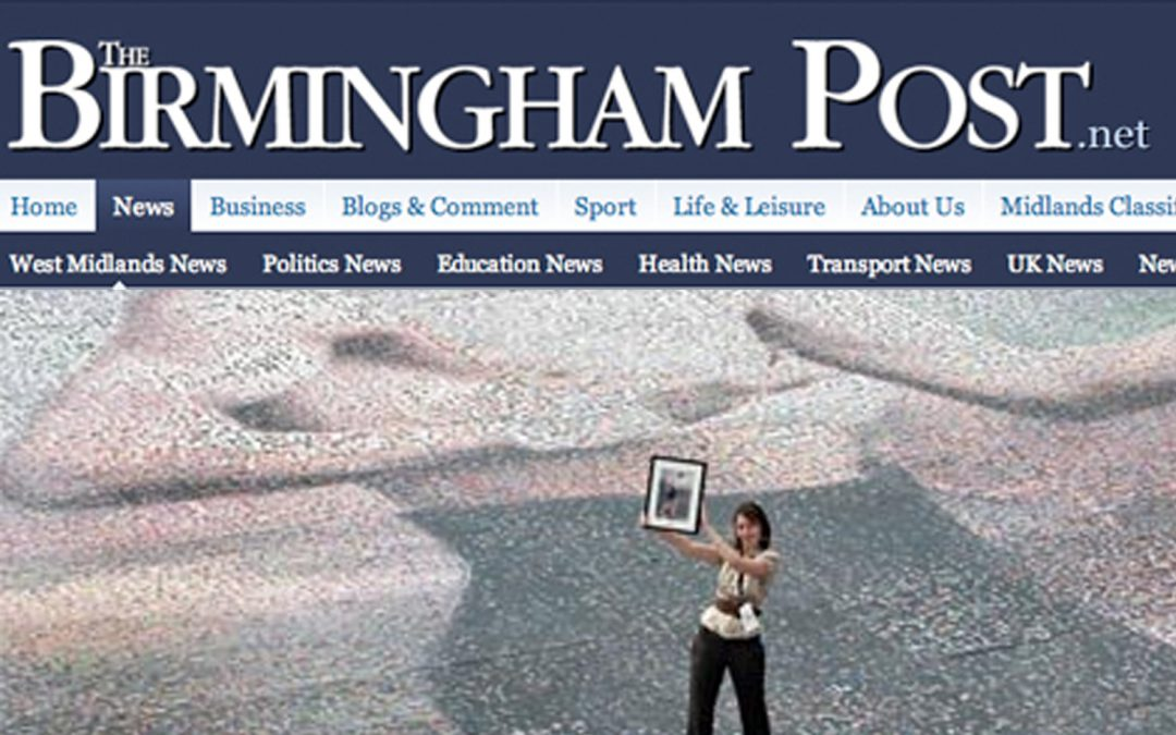 Giant mosaic puts 113,000 in the big picture | Birmingham Post | 2008