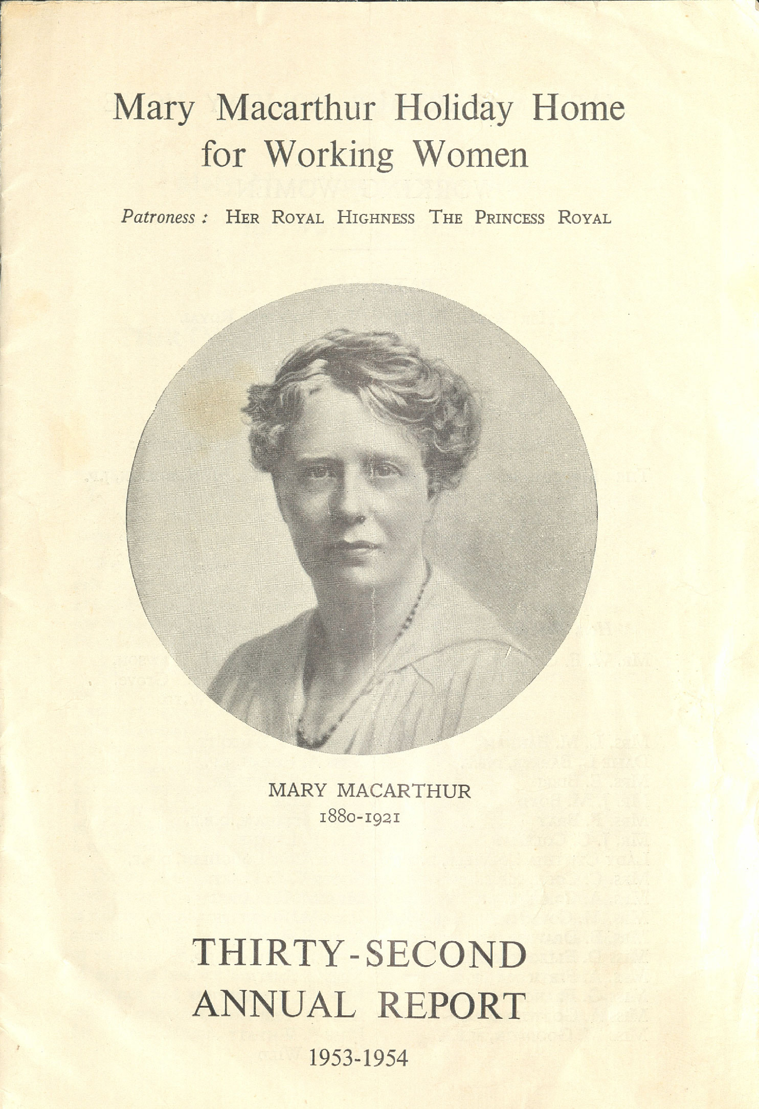 Image Credit: TUC Library, part of the Special Collections at London Metropolitan University.