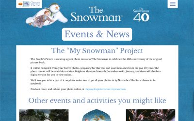 "The ""My Snowman"" Project 