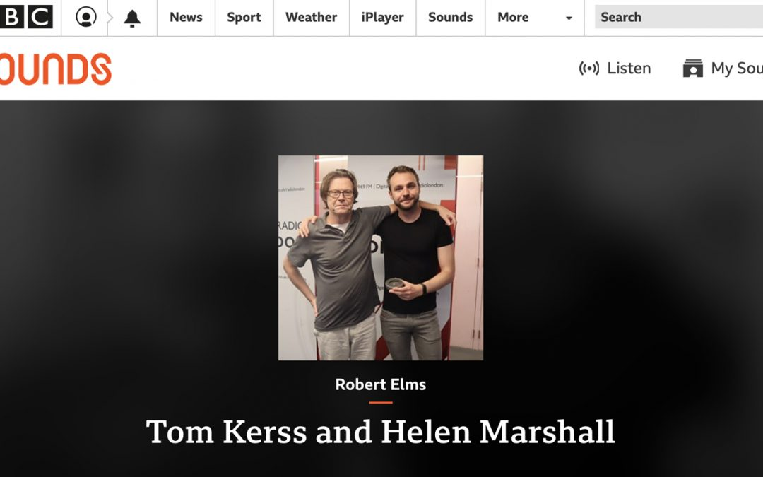 BBC LONDON | CELEBRATING THE 50TH ANNIVERSARY OF THE MOON LANDING WITH TOM KERSS AND HELEN MARSHALL