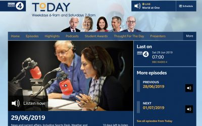 Radio 4 Today Show | The People's Moon | 2019