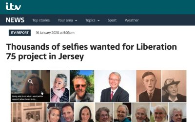 ITV News | Thousands of Selfies Wanted for Lib75 Project in Jersey | 2020