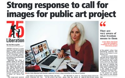 Jersey Evening Post | Strong Response to Call for Images for Public Art Project | 2020