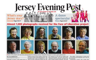 Jersey Evening Post | Almost 1000 Photographs Received for Face of Liberation | 2020