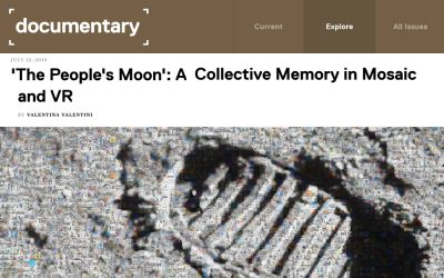 Documentary Magazine | 'The People's Moon': A Collective Memory in Mosaic and VR | 2019