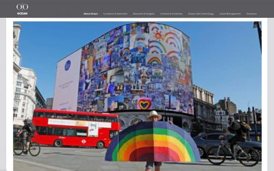 Ocean Outdoor | Piccadilly Lights launches open call to create a giant rainbow mosaic | 2020