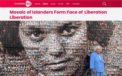 Channel 103  | Mosaic of Islanders Form Face of Liberation | 2020