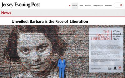 Jersey Evening Post |  Unveiled: Barbara is the Face of Liberation | 2020