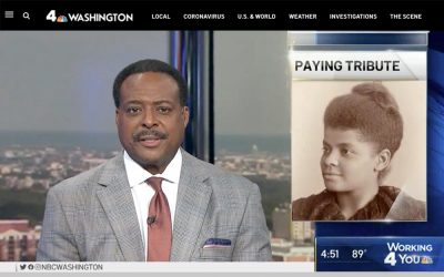 Washington News 4 | Mosaic at Union Station Honors Pioneering Civil Rights Leader Ida B. Wells | 2020